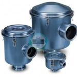ISO Flg Vacuum Filters, CSL Series (Zinc Nickel Finish)