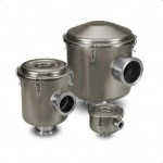 ISO Flg Vacuum Filters, CSL Series (Electroless Nickel Finish, SS Fittings)