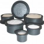 Hockey Puck Filter Elements for Miniature Filter Assemblies