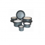Hockey Puck Filter Elements for Miniature Filter Assemblies
